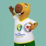 Les mascottes de la Copa América