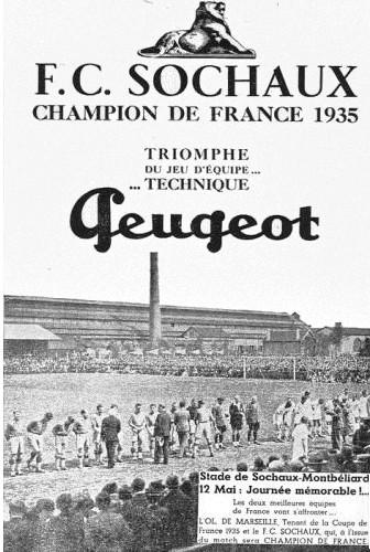 FC Sochaux 1935