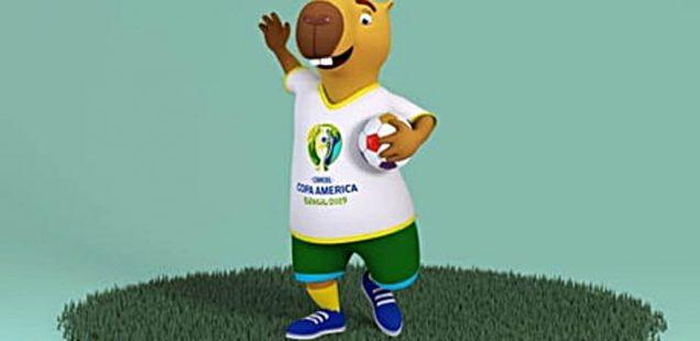 Zizito, mascotte Copa América 2019