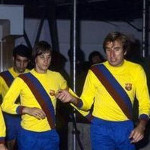 Maillot jaune FC Barcelone