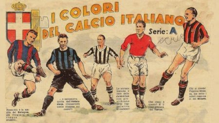 Couleurs Maillots Clubs Italiens