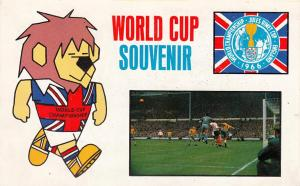 Willie 1966 World Cup Mascot