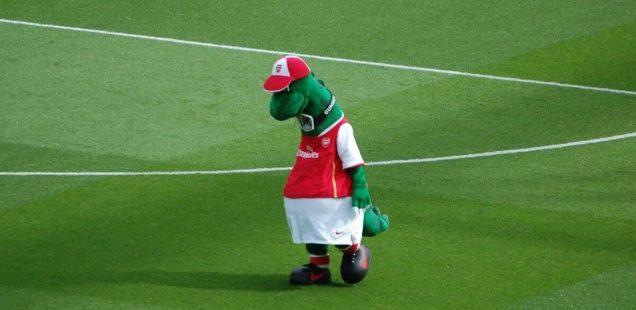 Gunnersaurus, mascotte Arsenal