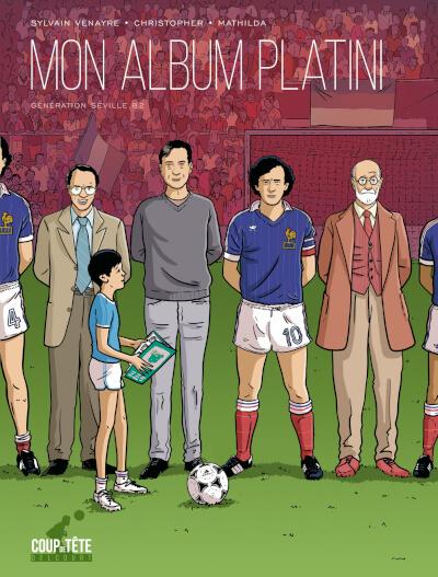 Mon album Platini (Delcourt)