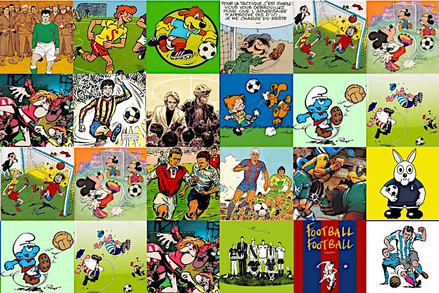 Football et bandes dessinées
